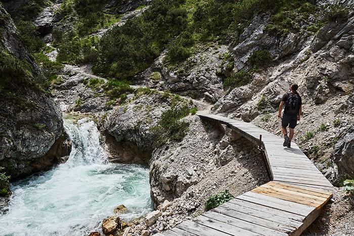 Leichte Wanderung für Einsteiger