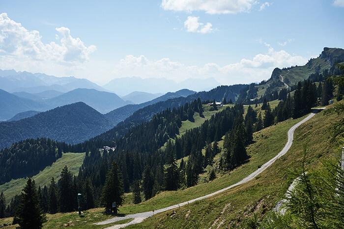 Wandern für Anfänger Aussicht Brauneck