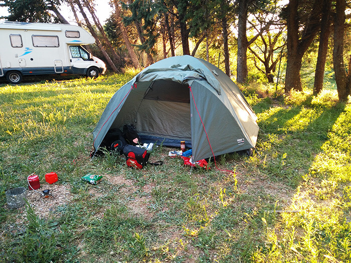 Camping Packliste Radreise & Fahrradtour
