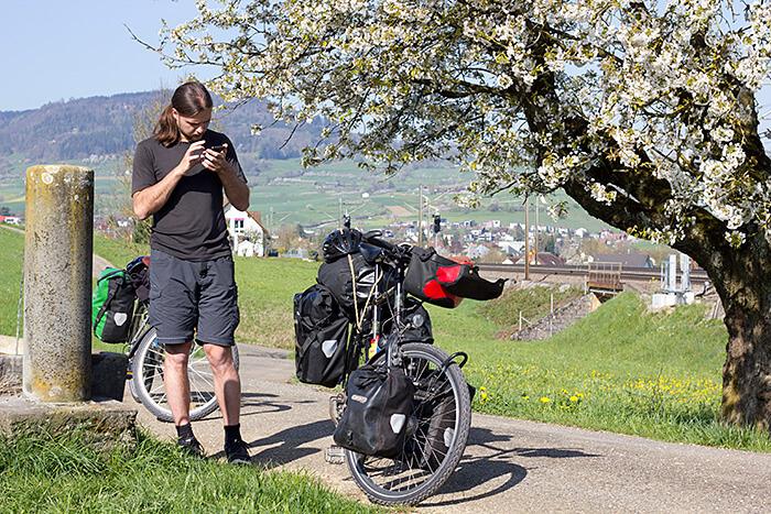 Navigation bei der Radreise