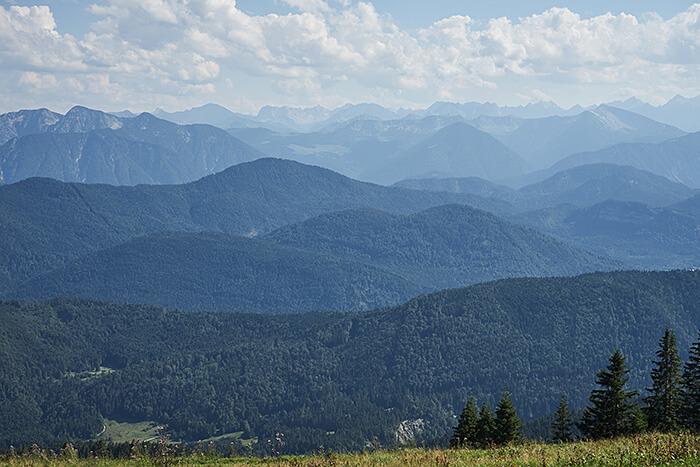 Packliste Wandern Tagestour Panorama