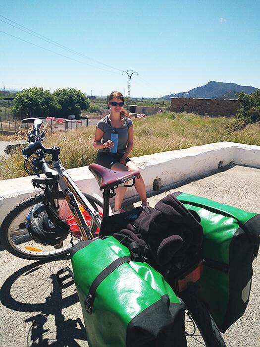 Fahrradtour Brooks Sattel