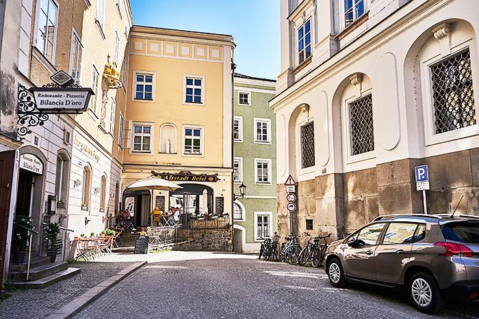 Altstadt in Passau