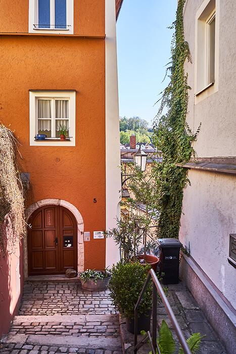 Gasse in Passau