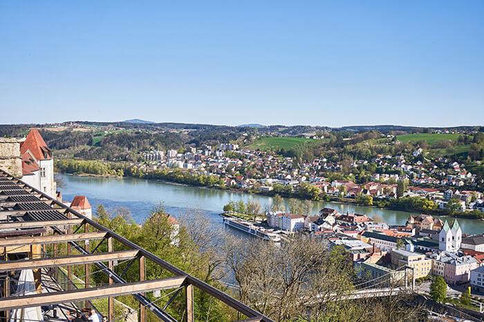 Drei Flüsse Stadt Passau
