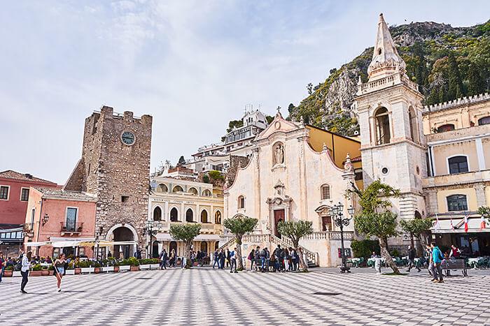 Taormina Stadtplatz