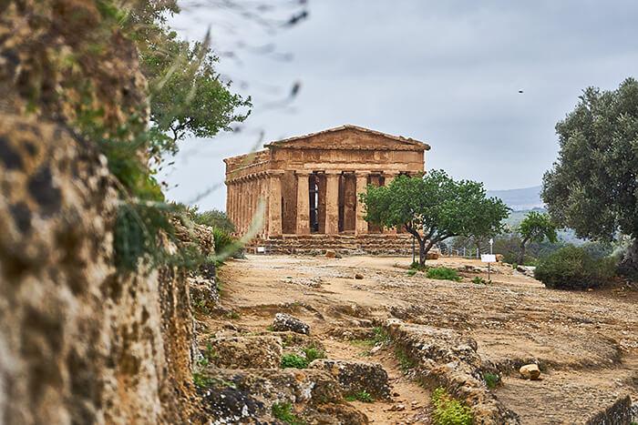 Tempel in Agrigento Sizilien Sehenswürdigkeiten