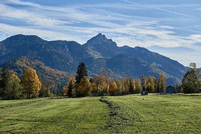 Berge im Herbst