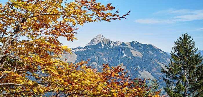 Herbstwanderung zur Aiplspitz