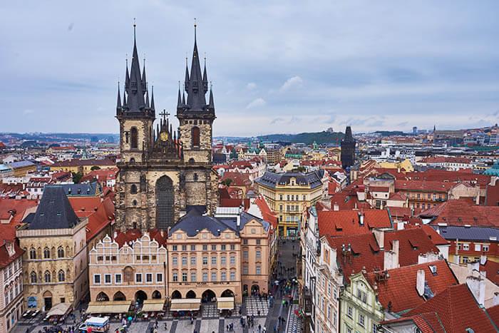 Ausblick Prager Turm