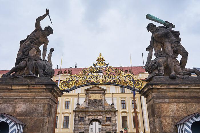 Der Palast Prag