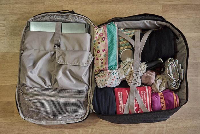 Pacsafe Rucksack für Städtetrip