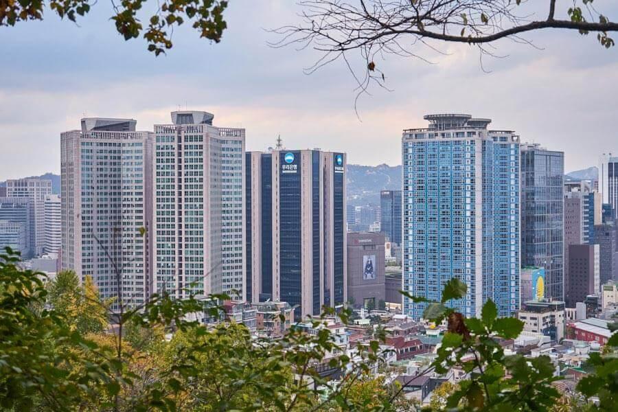 Seoul sehenswürdigkeiten hochhaus