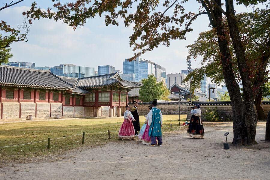 Seoul Sehenswürdigkeiten Palast