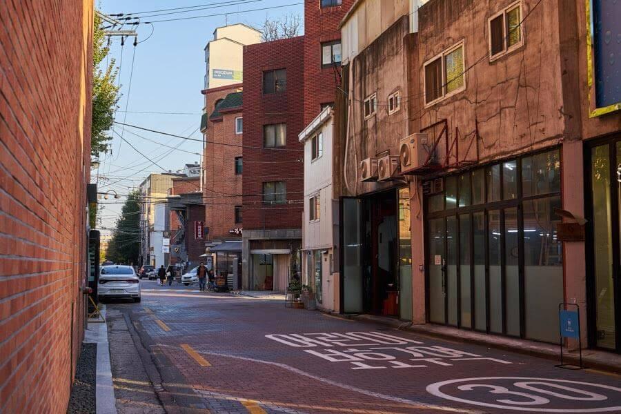 Schuhmacherviertel Seoul