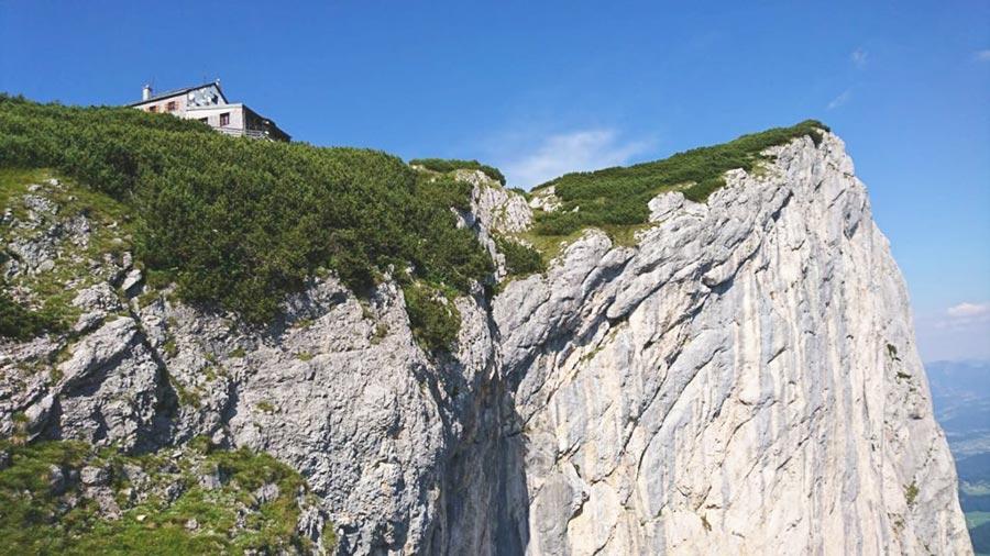 Untersberg Kletterwand am Störhaus