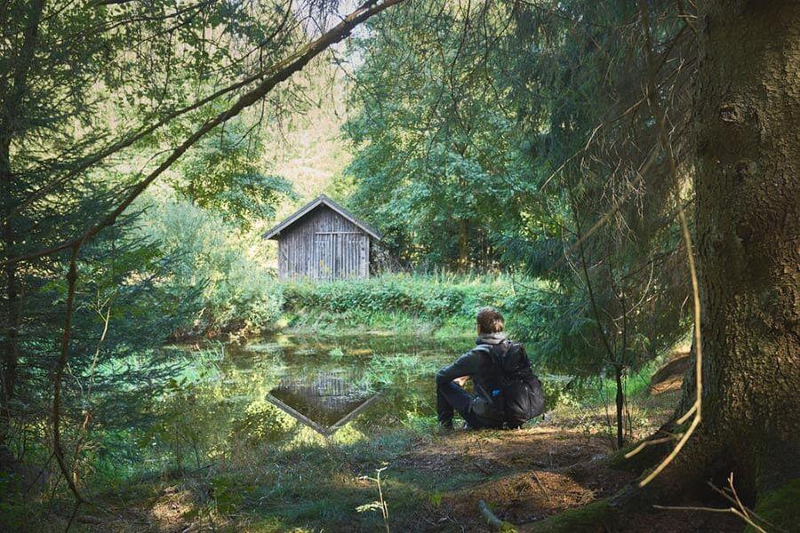 wanderung im frankenwald