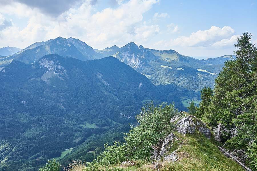 Wandern in Bayern: Gipfelglück