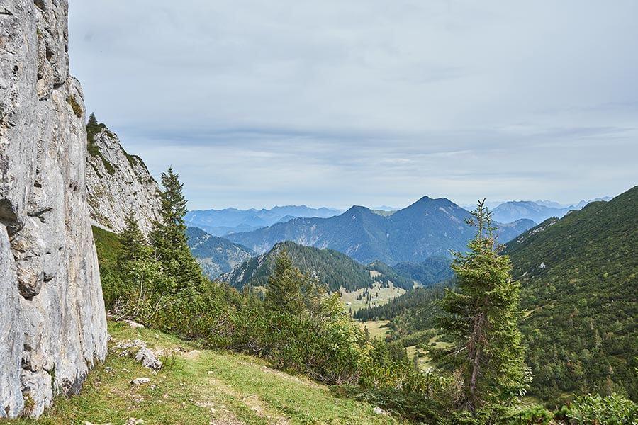Felsen wandern in Bayern