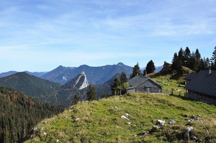 Wandern in Bayern: Tegernseer Hütte