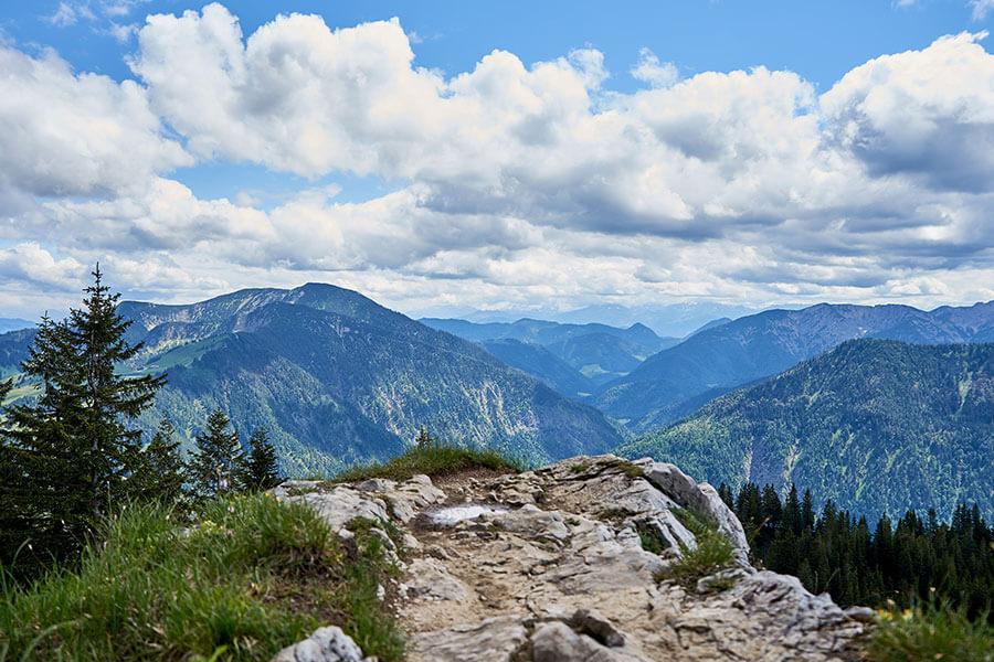 wandertouren in den bergen