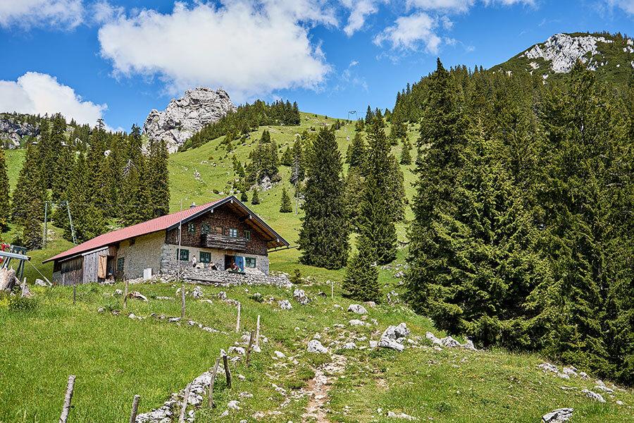 Bergtouren mit Hütte