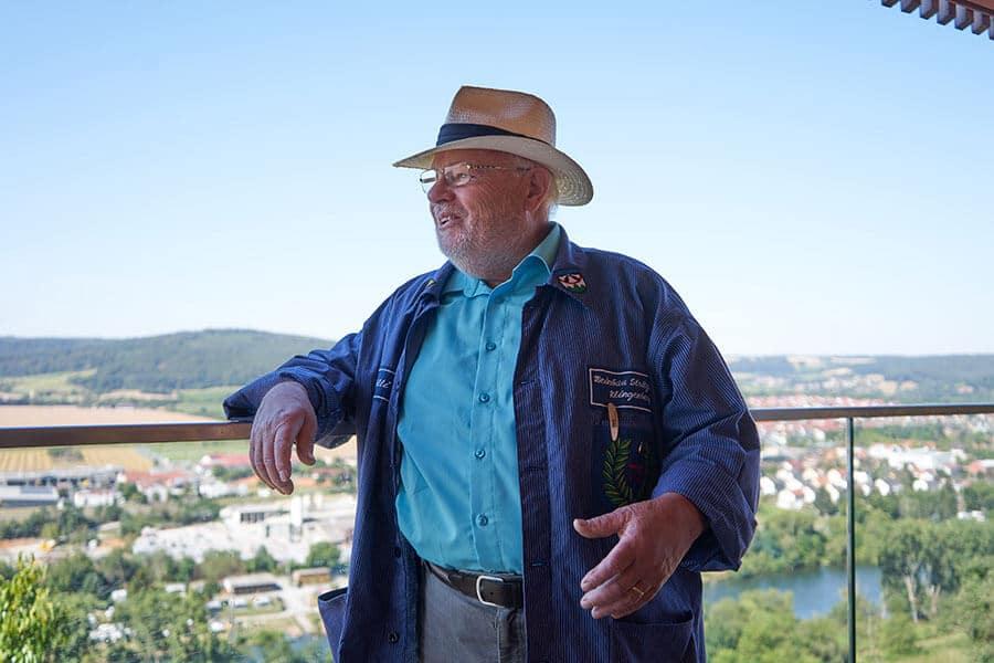 Erfinder des fränkischen Rotweinwanderweges