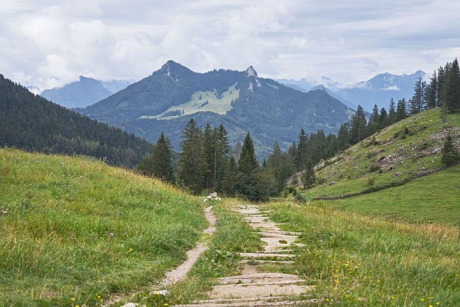 Ausblicke im Chiemsee Alpenland