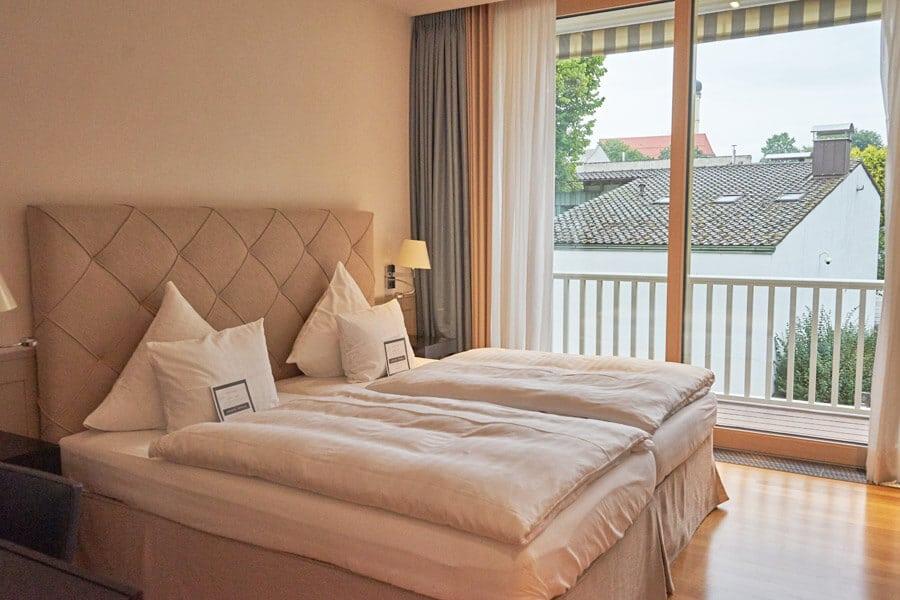 Zimmer im Romantikhotel das Lindner