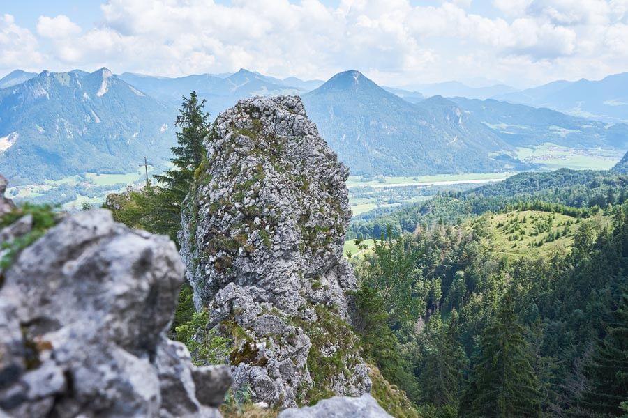 Wandern im Chiemsee alpenland zur Maiwand