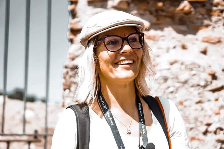 Reisefrührerin Annett