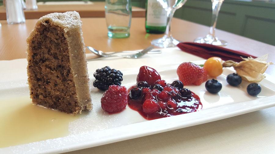 Dessert im Hotel Summerhof