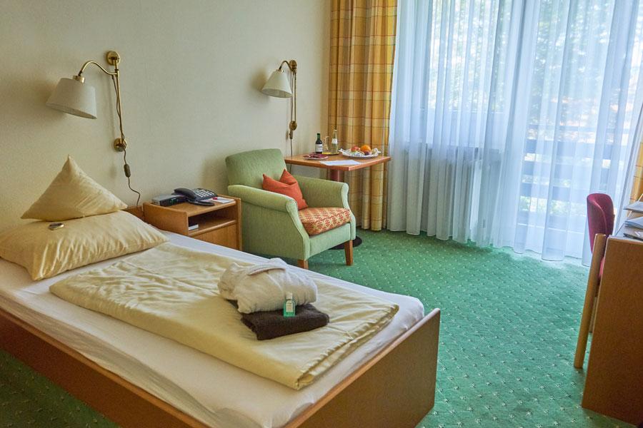 Einzelzimmer im Hotel Summerhof in Bad Griesbach