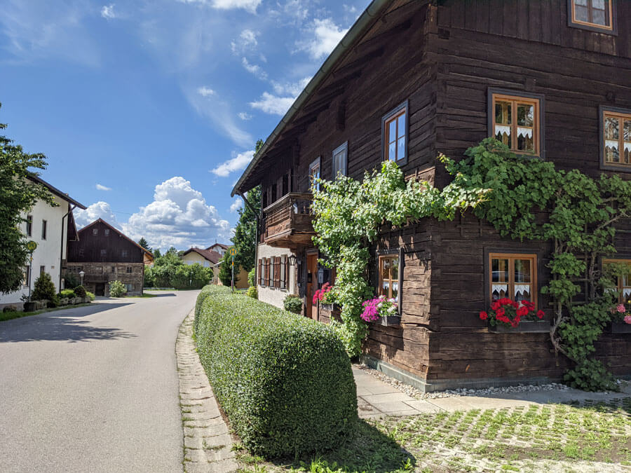 Altes Haus nahe bad griesbach